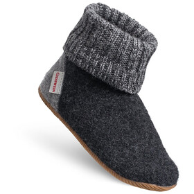 Giesswein Wildpoldsried Chaussons montants Enfant, anthracite